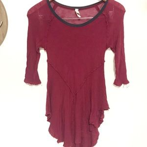 Free People Tops - Free people intimately weekend layering tunic